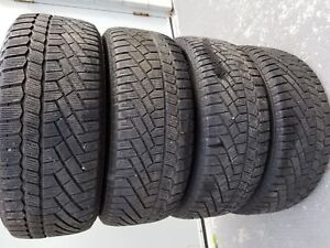4 215/55R16 fit 205/55R16 Continental ExtremeWinterContact Hiver