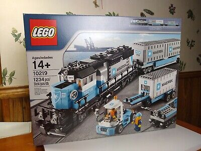 LEGO 10219 Creator MAERSK TRAIN set NEW IN SEALED BOX  for sale  Shipping to Canada