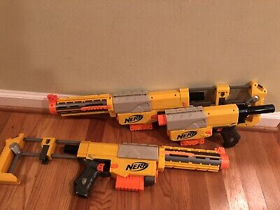 Nerf Recon CS-6 Lot of 3 Toy Dart Guns