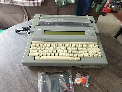 Brother Wp-760d Word Processor Typewriter W Brand New Ink Ribbon Correct Tape
