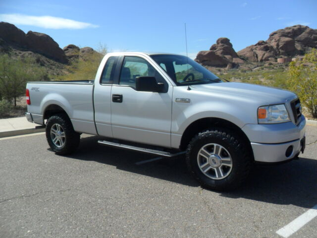 2008 ford f150 stx 4x4 regular cab v8 short bed fully. Black Bedroom Furniture Sets. Home Design Ideas