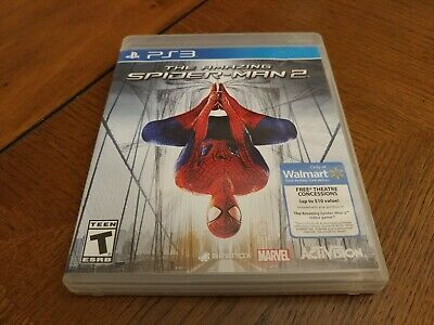The Amazing Spider-Man 2 PS3 (Sony PlayStation 3, 2012) Great Condition