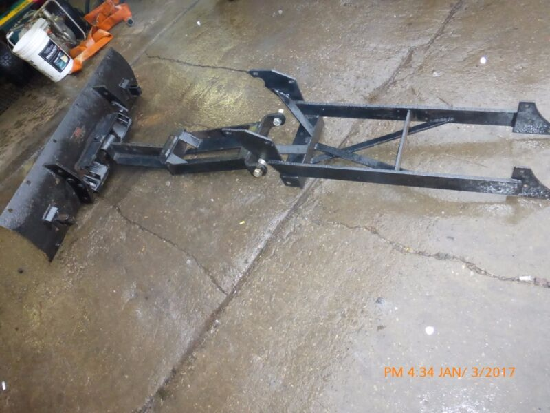 """NOS Bolens FMC Iseki 48"""" Plow / Blade and Frame M250 Incomplete"""