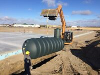 ScrewPiles And Septic Tanks Near Moosomin