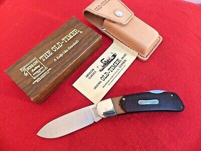 Schrade USA Old Timer Big Timer sunfish 51OT lockback knife & sheath