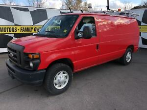 2009 Ford Econoline Commercial, Cargo Divider, 122, 000km