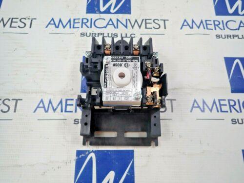 NEW Asco 918 22071 Lighting Contactor 2 Pole 20 amp 277 Volt Coil