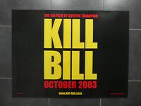 """Kill Bill Vol 2 /""""Kill Is Love/"""" Japanese Chirashi Mini-Poster RARE, MINT"""