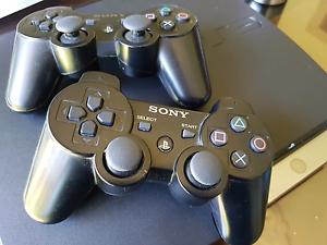 Rare PS3 Slim (3.55) + 2 controllers + 12 Games Oakleigh Monash Area Preview
