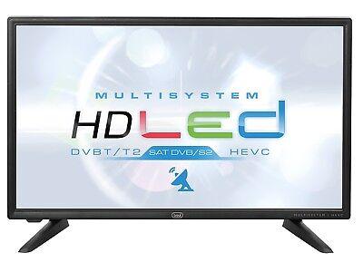 "Televisore TV LED LCD HD Ready 20"" TREVI LTV2001SAT 12V DVB-T2 - 12 Volt Camper"