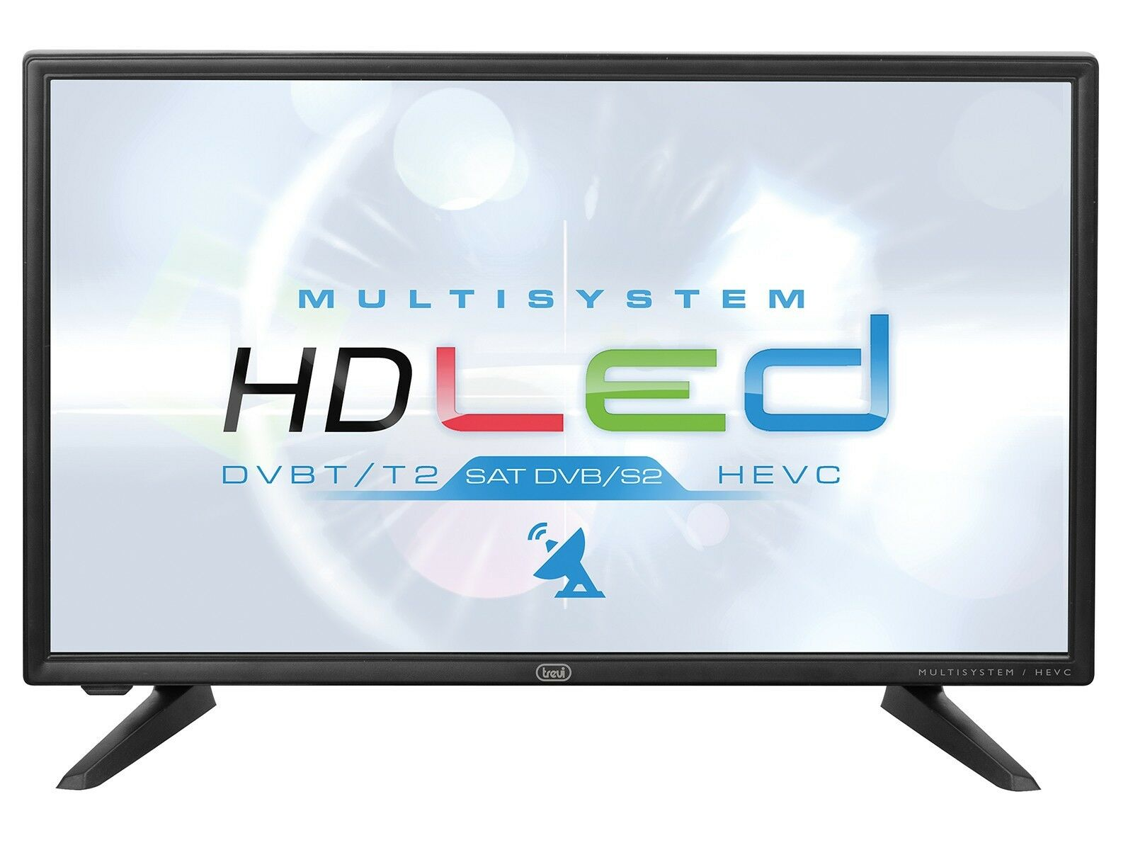 Televisore TV LED LCD Full HD 20'' DVB-S2 DVB-T2 - 12 Volt Camper Camion CARAVAN