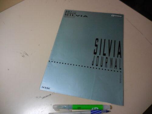 "Nissan SILVIA Japanese Literature ""SILVIA JOURNAL"""
