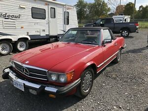 1986 Mercedes-Benz 560sl Convertable for sale