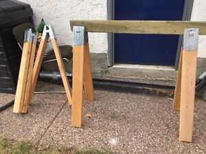 Sawhorse Clamp Stands 10 Available