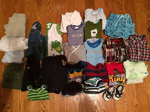 Boys clothing lot 0-9 months