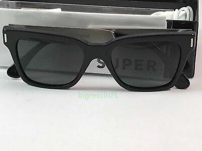 New Super Retrosuperfuture 771 America Francis Black Silver Sunglasses Size (Super Sunglasses America)