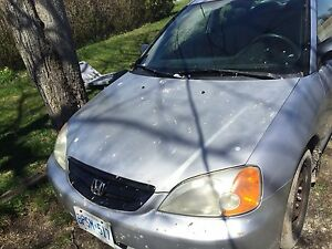 Trade 2002 Honda Civic 5 speed