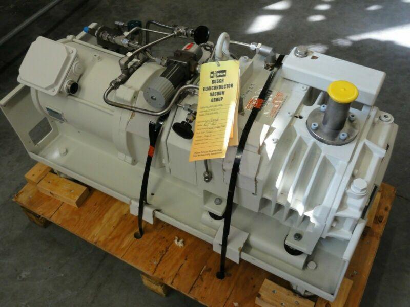Busch Cobra NS 0160 Dry Screw Vacuum Pump For Parts or Rebuild