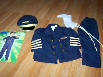 Toddler Size 2-4 Forum Novelties Airline Pilot Halloween Costume Plane Captain