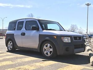 Honda Element 2003 droppée Coilover TEIN