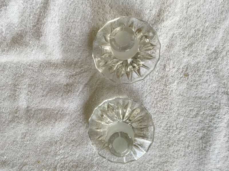 Imperial Glass Cape Cod Crystal Decanter Set