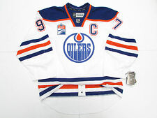McDAVID EDMONTON OILERS AUTHENTIC AWAY INAUGURAL SEASON REEBOK EDGE 2.0 JERSEY