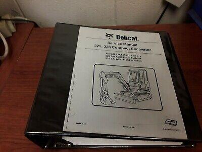 Bobcat 325 328 Compact Excavator Service Manual