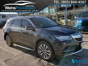 2015 Acura MDX NAVIGATION PACKAGE| SUNROOF| CAMERA|