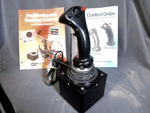 MSI 547 Measurement Systems Inc Control Grip, Machine Joystick, Hand Controller
