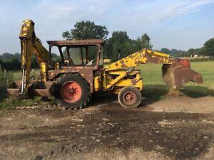 jcb digger and excavator