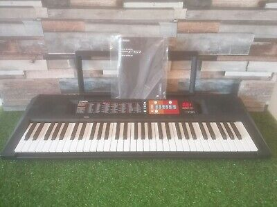 Yamaha PSR-F51 Electronic Digital Keyboard - Black