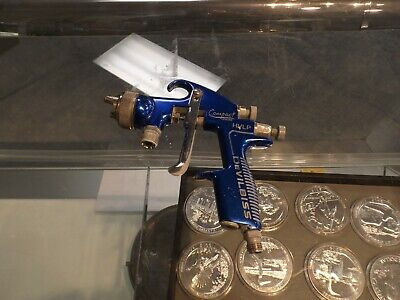 Devilbiss Compact Finishing Paint Spray Gun Used Ready To Ship