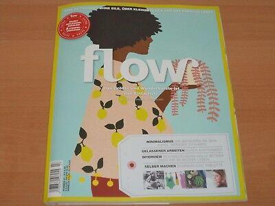 Flow Nummer 27 Zeitschrift mit allen Beilagen aus 2017 NEUWERTIG!