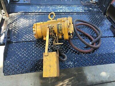 Ingersoll Rand Ton Air Pneumatic Chain Hoist Ml-250k 1a