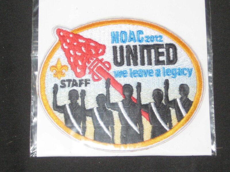 2012  NOAC Staff Pocket Patch  et