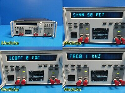 Wavetek 288 Synthesized Function Generator Model 1288 22129