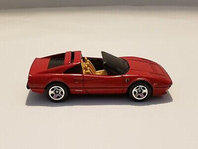 HOTWHEELS Ferrari 308 GTS Red Malaysia 1/64 Scale Die cast