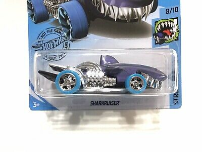 Hot Wheels SUPER CUSTOM Sharkruiser w/Real Riders TREASURE HUNT