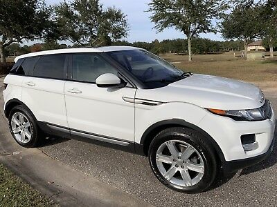 2014 Land Rover Range Rover 5dr Hatchback Pure Plus 2014 Land Rover Evoque Pure  Xenon Navigation Surround Cameras