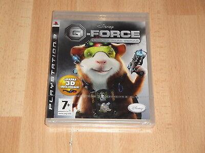 G-FORCE LICENCIA PARA ESPIAR + GAFAS 3D DE WALT DISNEY PARA PS3...