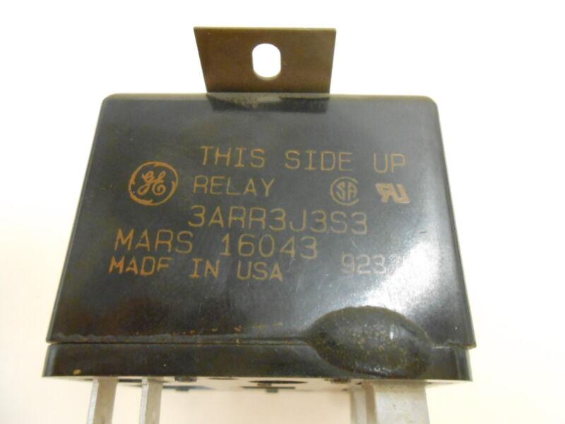 GENERAL ELECTRIC GE 3ARR3J3S3 RELAY MARS 16043