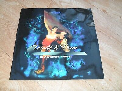 TORVILL & DEAN - Ice Skating programme ICE ADVENTURE 1997-98 + 2 tickets