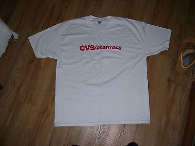 Cvs Pharmacy Vintage T Shirt Mens Size Xl  46 48  Brand New Drug Store Logo Tee