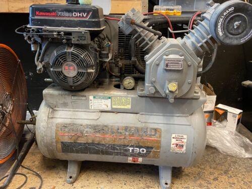 Ingersoll Rand T30 Kawasaki Motor Mobile Compressor