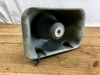 Vintage Whelen Sa340ts 100 Watt Lightbar Siren Speaker W Bracket - Tested