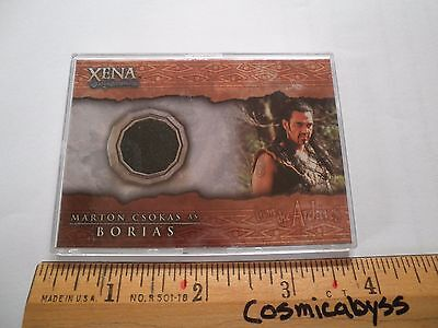 Xena Warrior Princess costume card C10 Morton Csokas Borias - Xena Warrior Princess Costumes