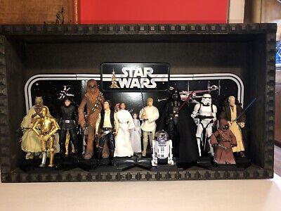 "STAR WARS 40th Anniversary 6"" Figure Custom Display Lot Hasbro Complete"