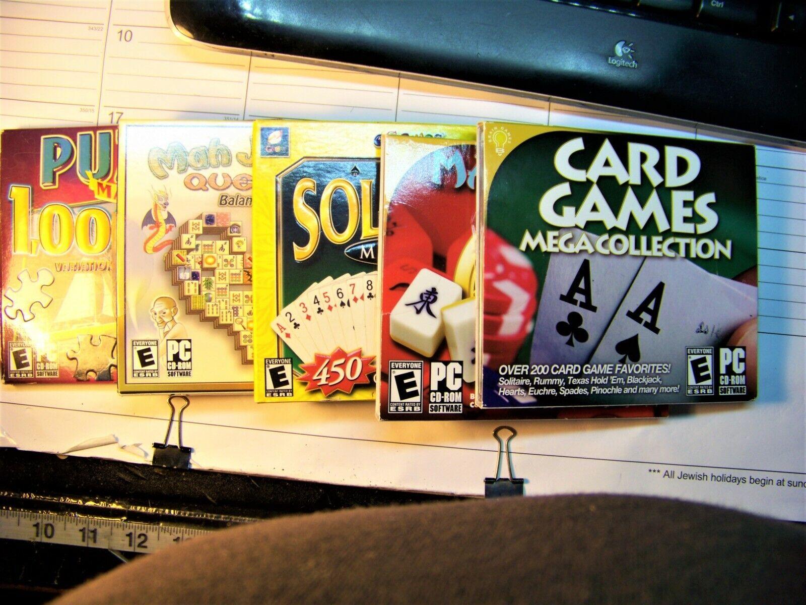 Computer Games - LOT OF 5, VARIOUS COMPUTER GAMES