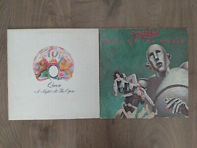 Queen Vinyl (A Night At The Opera, News Of The World)