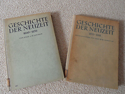 Geschichte der Neuzeit (2 Bücher) 1640 - 1870 und 1870 - 1918